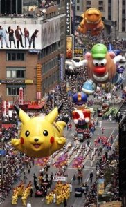 Toronto office space clients watch Thanksgiving Parade