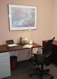 Photo of home office area