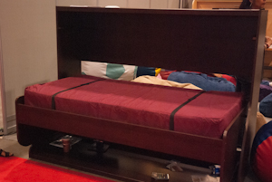 office space bed desk