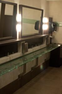 office space toronto restroom