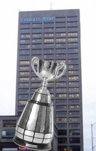 Grey Cup 2012 walking distance to our Office Space Toronto