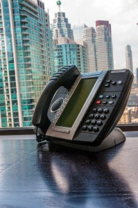 This is the Phone you can have with your VoIP virtual office package. You can use this phone anywhere in the world and appear to be calling from Toronto.