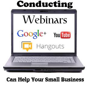 conducting webinars