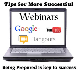 tips for more successful webinars