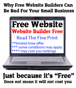 Free-Website-Builder-Problems
