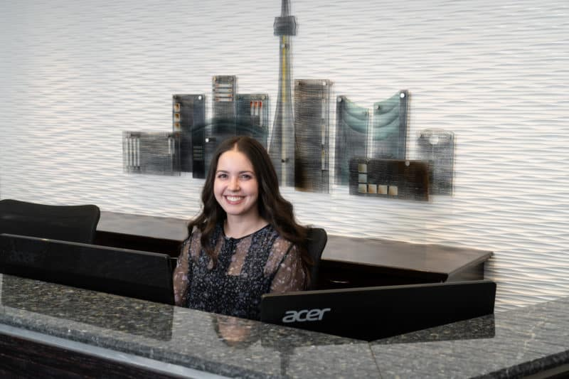 Photo of Receptionist