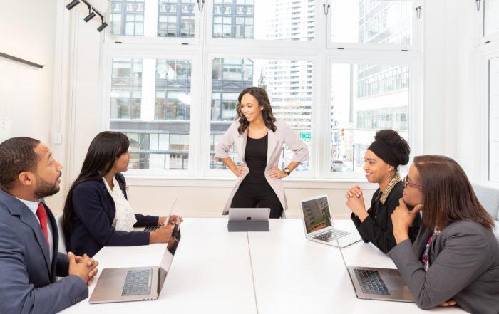 running client meeting