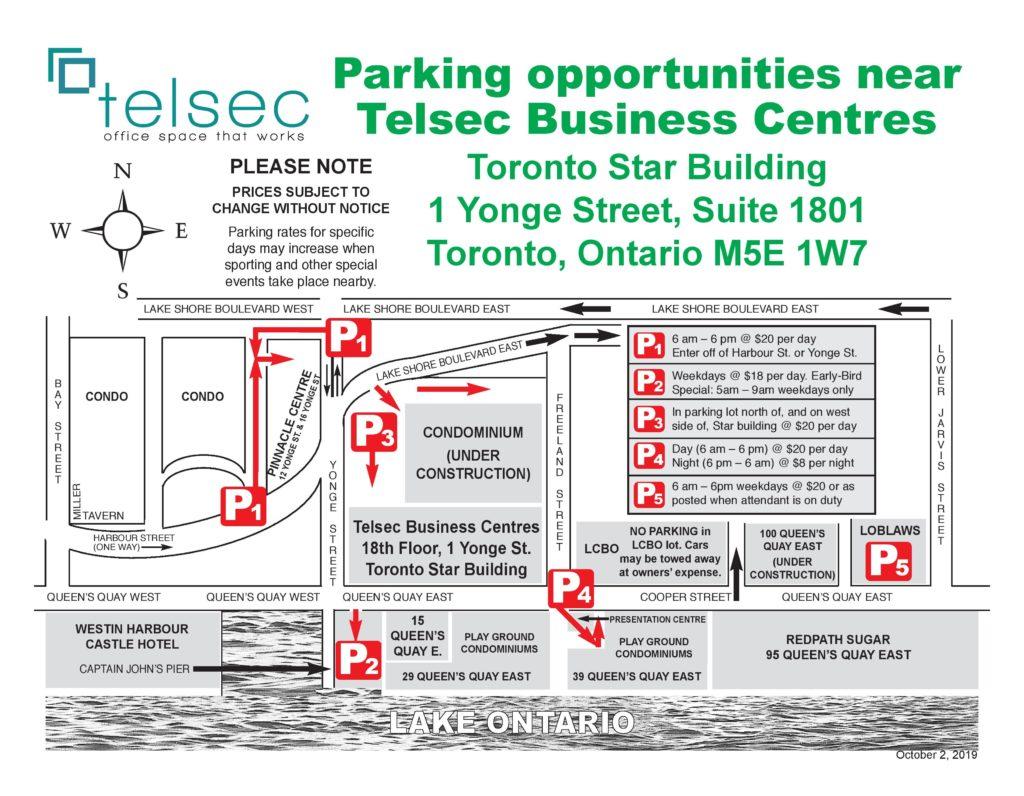 Telsec Parking